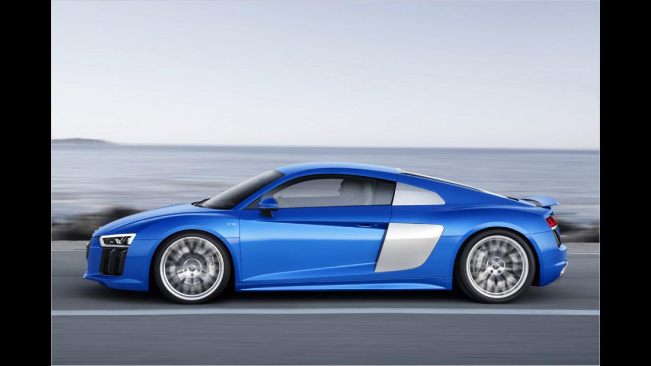 Audi: Das Flaggschiff heißt R8 V10 plus