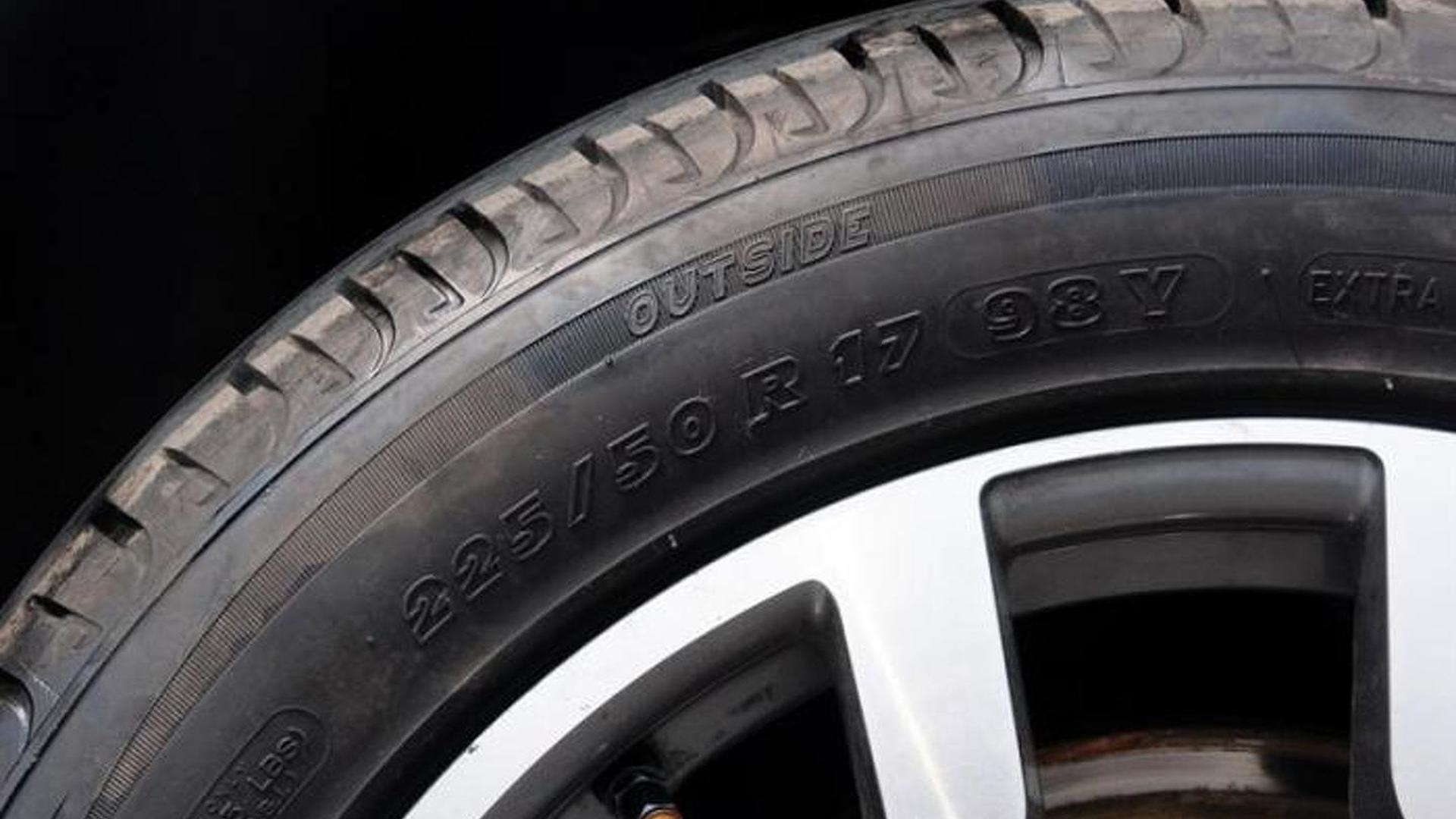 Покрышки Michelin на 17-дюймовых колесах Audi A6