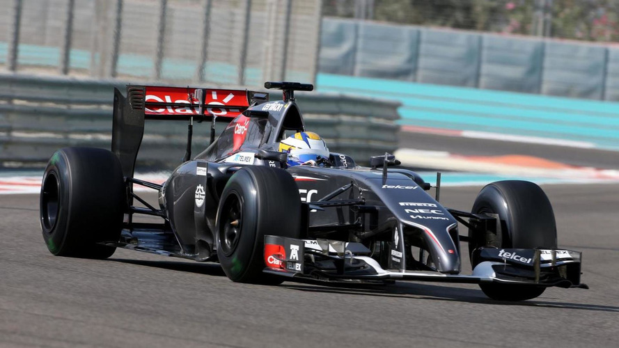 Sauber set for blue and yellow livery - report