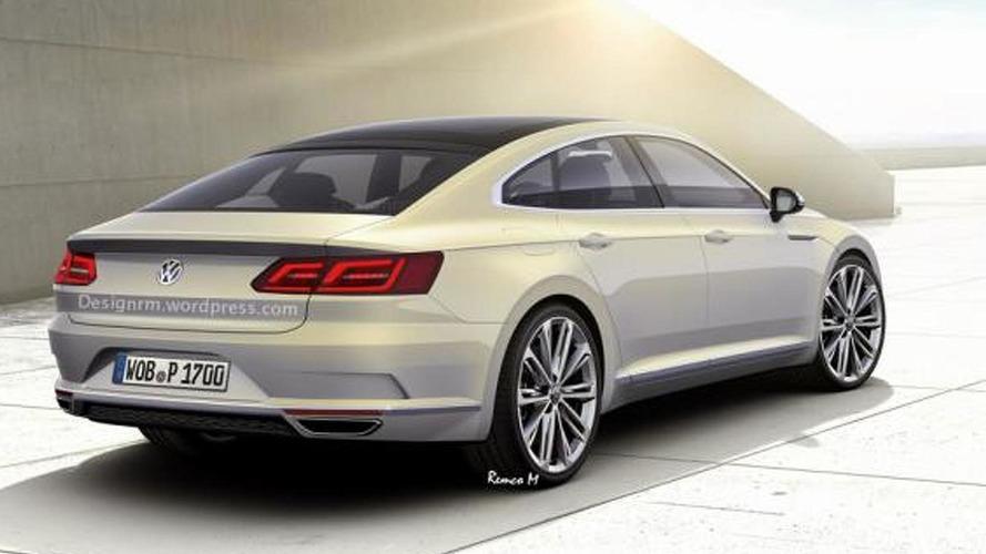 Next generation Volkswagen CC speculatively rendered