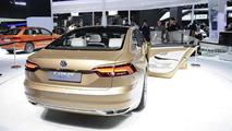 Volkswagen C Coupe GTE concept at Auto Shanghai 2015