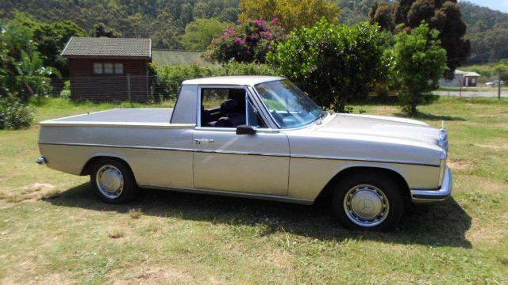 Lexus V8-powered Mercedes 220D pickup listed for $6,850