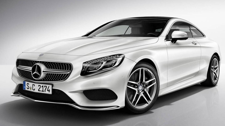 2014 Mercedes-Benz S-Class Coupe AMG Line kit detailed