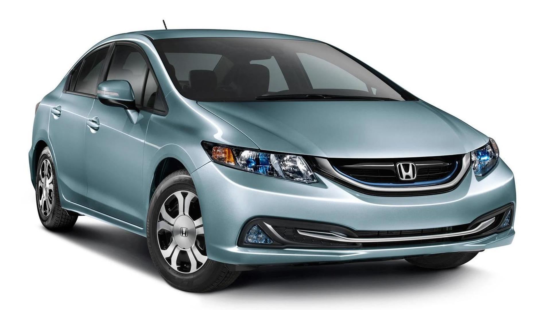 2015 Honda Civic Hybrid and Natural Gas pricing disclosed in United