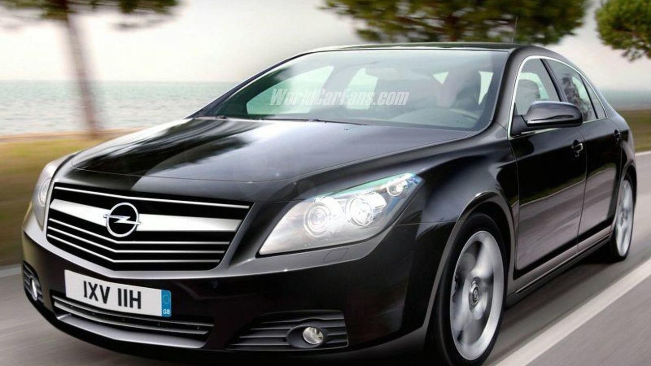 Opel Omega - Artist Impression