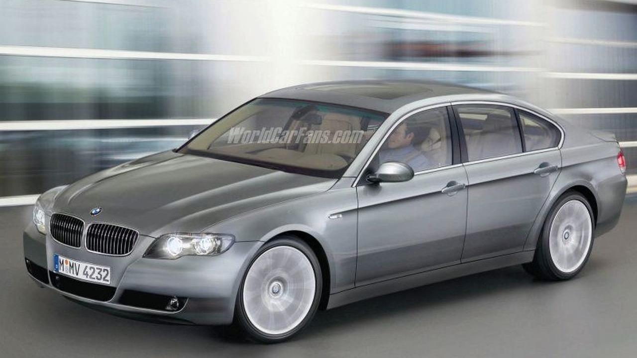 New BMW 7-Series Spy Illustration