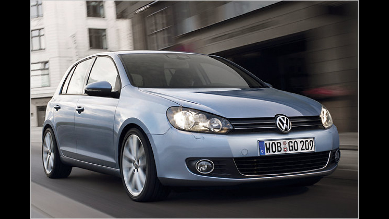 VW Golf 1.6 TDI BlueMotion Technology