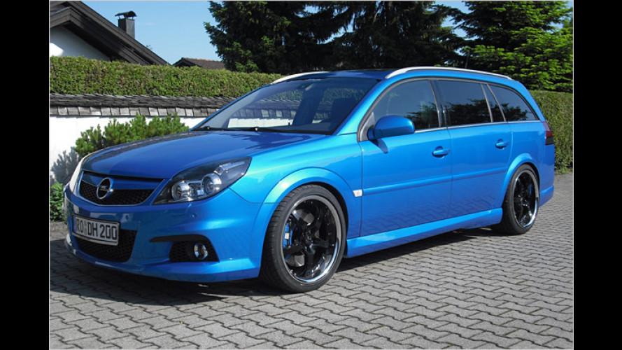 Opel Vectra OPC: JMS macht den Kombi noch schärfer