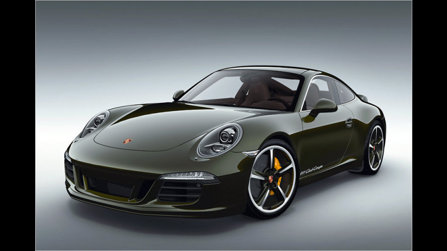 Sehr selten: 911 Club Coupe