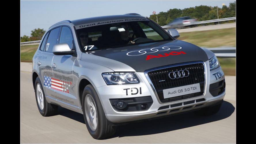 Für eine Hand voll Tropfen: Audi Mileage Marathon