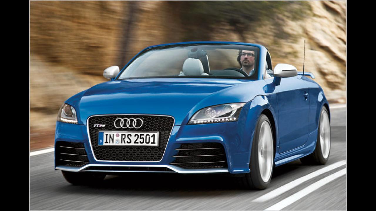 Bester Motor von 2,0 bis 2,5 Liter Hubraum<br><br>2,5-Liter-Turbo von Audi