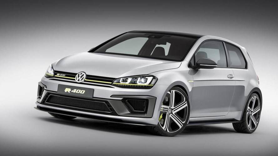 Volkswagen Golf R400 production version confirmed, could be boosted to 420 PS