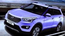 2014 Hyundai ix25 leaked?
