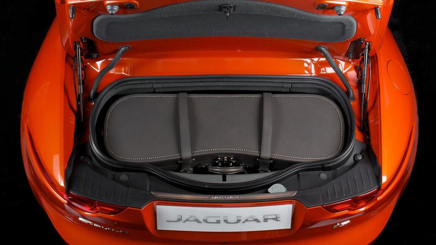 Jaguar and Moynat design luggage specifically for F-Type