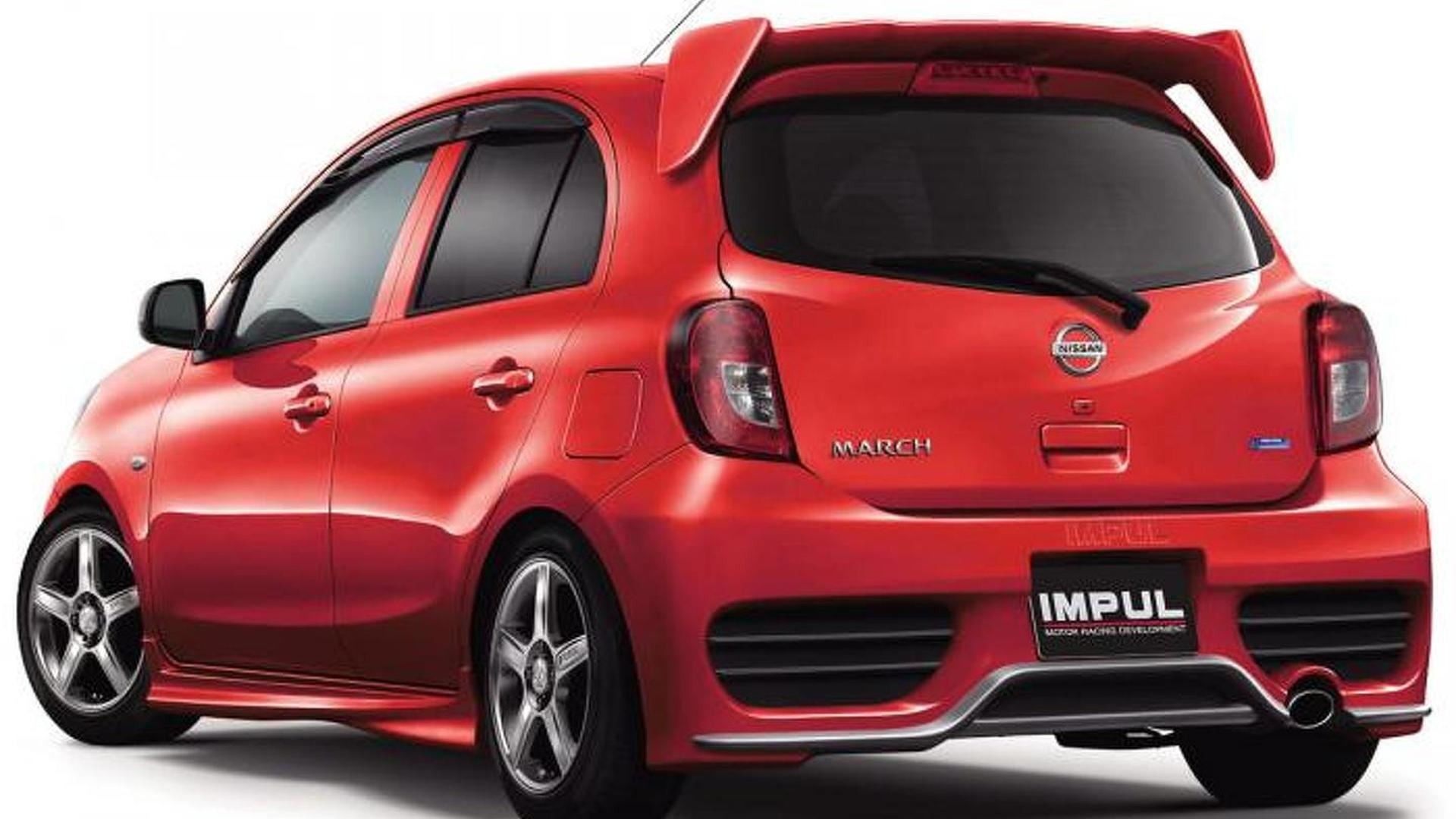 Nissan March Tuning >> Japanese Tuner Impul Releases Beefed Up Nissan Micra March