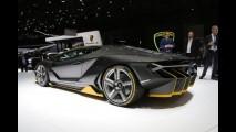 Lamborghini Centenario Cenevre'yi salladı