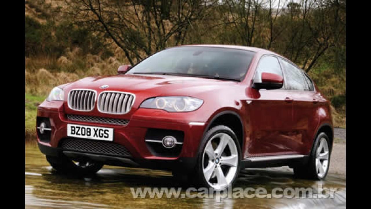 """Mais potente e esportivo: Novo BMW X6 ganhará série """"M"""" no começo de 2009"""
