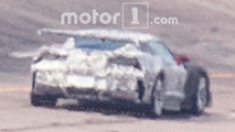 Chevrolet Corvette ZR1 Wing Spy Photos