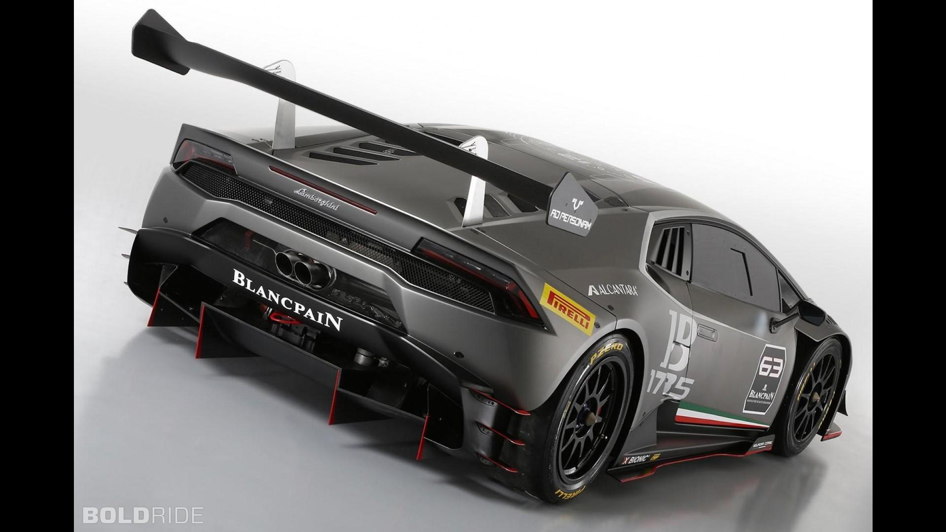 Lamborghini Huracan Super Trofeo для гонок