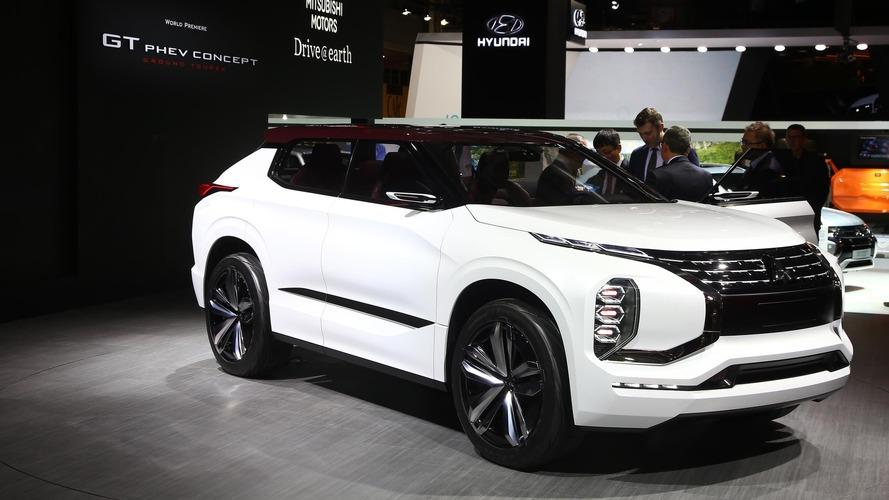 Le concept SUV Mitsubishi GT-PHEV se dévoile à Paris