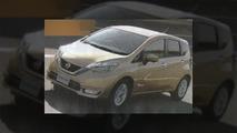 2017 Nissan Note Hibrit fotoğrafları sızdı