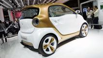 Smart ForVision concept live in Frankfurt - 15.9.2011
