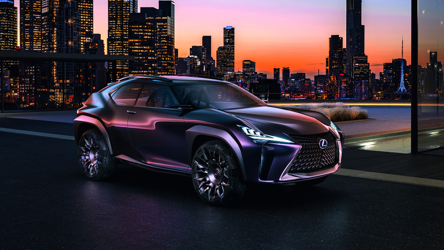 Lexus UX SUV concept approved for production