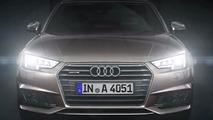 2016 Audi A4 with matrix LED headlights