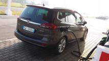 Opel Zafira Tourer 1.6 CDTI, test di consumo reale Roma-Forlì