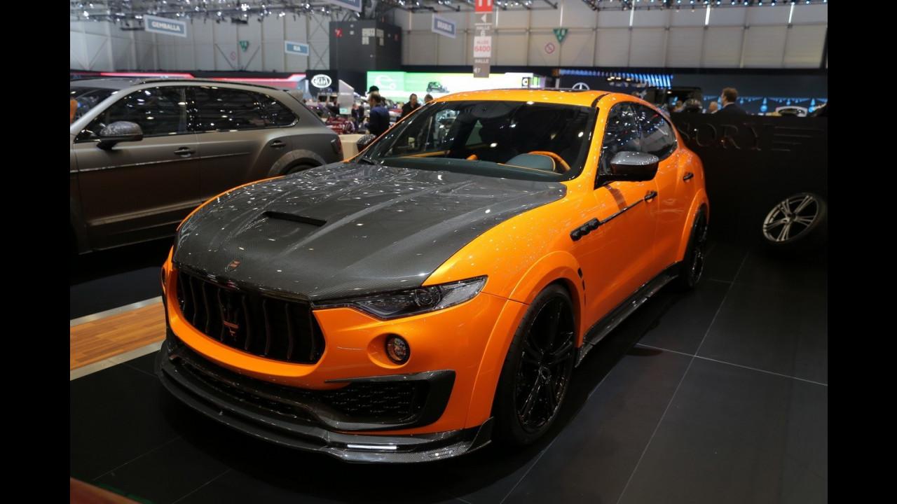 Maserati Levante, il tuning di Mansory e Startech