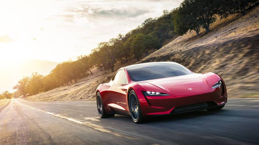New Tesla Roadster Now On Display At HQ