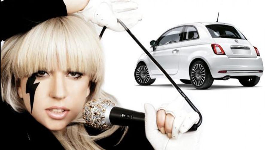 Fiat 500C, Lady Gaga paga 100.000 euro per quella di Lapo Elkann