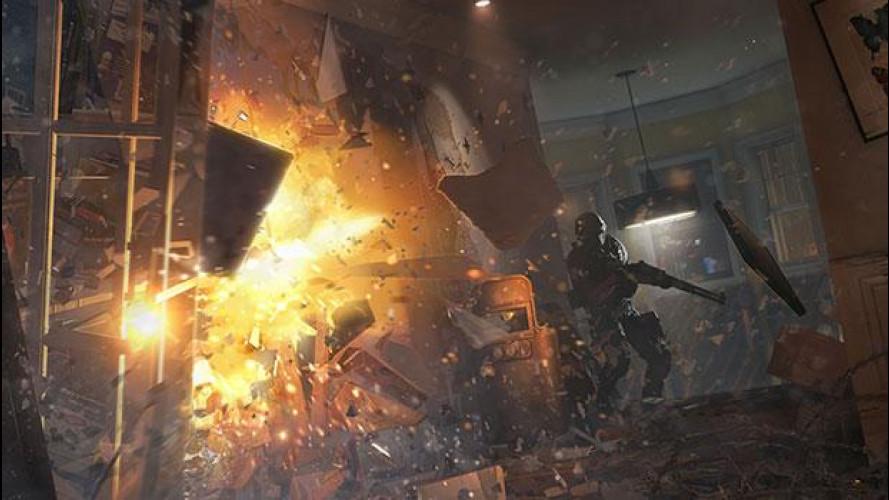 Lotta al terrorismo, infiltrazione tattica per Tom Clancy's Rainbow Six Siege