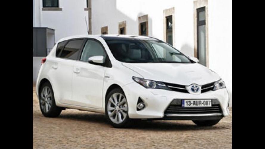Toyota Auris Hybrid, porte aperte sabato 12 e domenica 13 gennaio