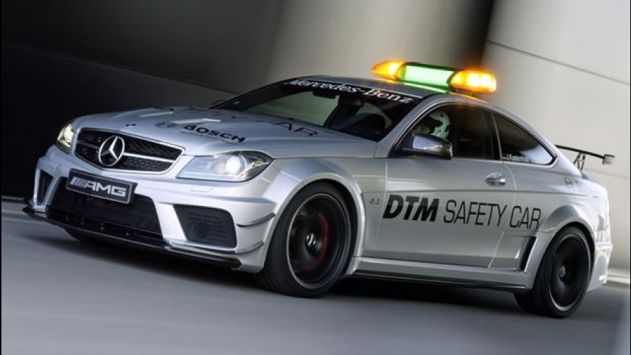 Mercedes C 63 AMG Coupé Black Series DTM safety car