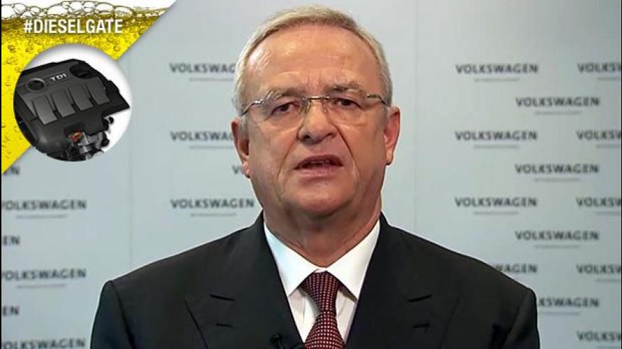Volkswagen Dieselgate, Winterkorn si scusa ancora, ma non si dimette