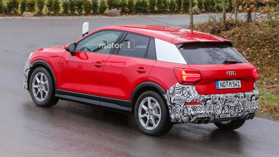 Hotter Audi Q2 Spotted With Quad Exhaust Might Be The SQ2