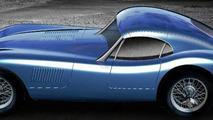 Proteus Jaguar C-Type Coupe Artist Impression