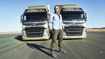 Jean Claude Van Damme reay to perform Epic Split with Volvo trucks