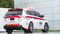 Mitsubishi Safety Vehicles for 2013 Pikes Peak Hill Climb 18.6.2013