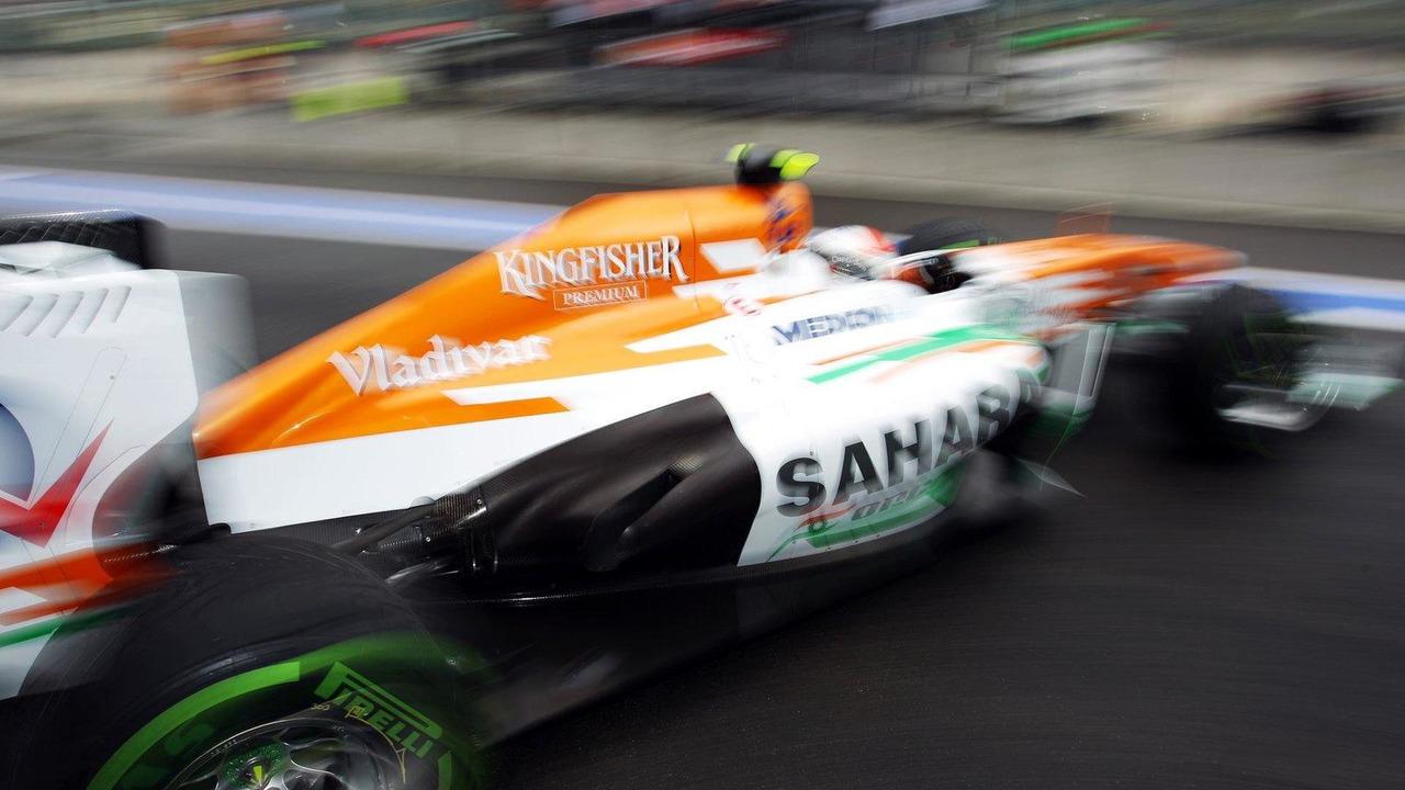 Adrian Sutil 23.08.2013 Belgian Grand Prix