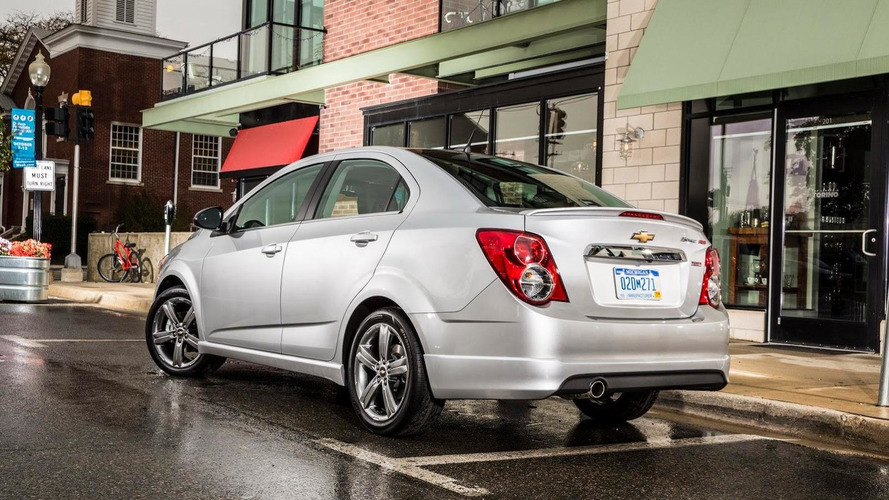 Chevrolet Sonic RS Sedan and Sonic Dusk Sedan introduced in L.A.