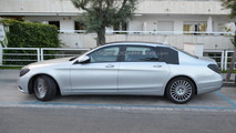 2014 Mercedes-Benz S-Class extra-long wheelbase spied, not the Pullman version