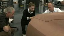 Alleged VW Golf VII design model video screenshot