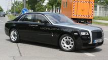 Rolls-Royce Ghost production version spy photo