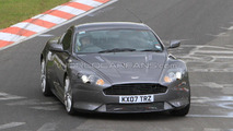 Aston Martin DBS DB9 facelift spy photo, Nurburgring Nordschleife, Germany 19.05.2010