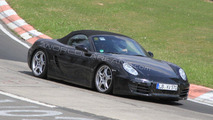 2012 Porsche Boxster spy photos, Nurburgring, Germany 23.04.2010
