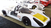 Porsche 907, number 54 driven by Vic Elford / Jochen Neerpasch in 1968, Porsche Rennsport Reunion 2002
