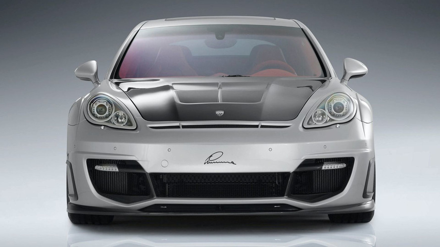 LUMMA CLR 700 GT based on Porsche Panamera Turbo Pre-Geneva Reveal