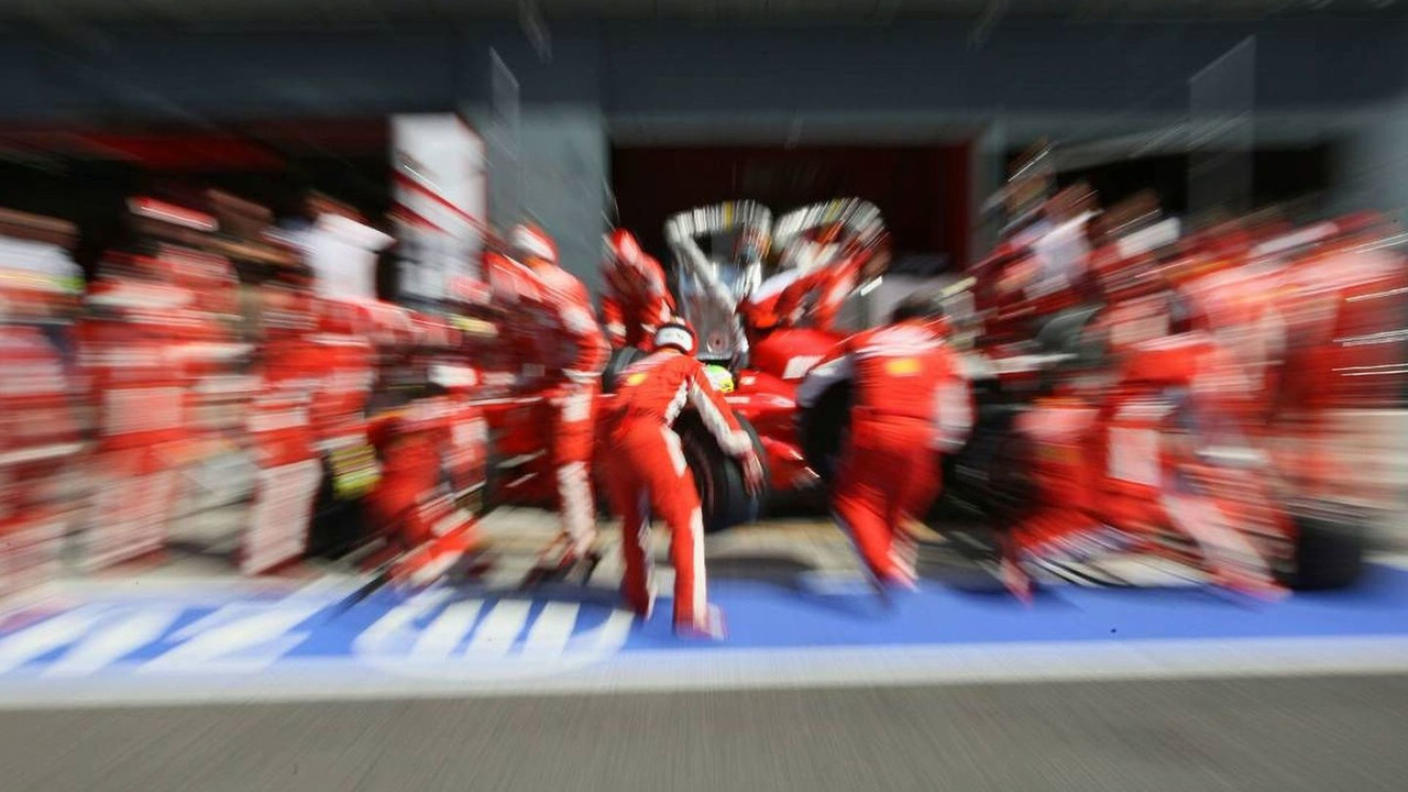 Felipe Massa (BRA), Scuderia Ferrari PIT STOP, Italian Grand Prix, 08.09.2007, Monza, Italy